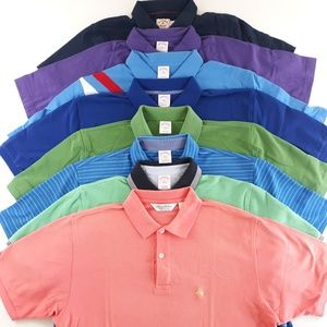 Lot of 8 Brooks Brothers Polos Various Sizes
